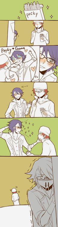 Poor Fushimi ( I don't really like him though, but my SARUMI!!!!)