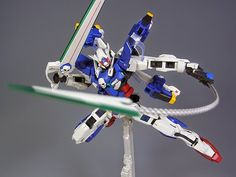 MG 1/100 Exia and Crossbone Gundam MIX Build - Gundam Kits Collection News and Reviews