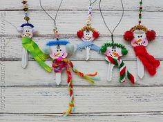 Super Cute Snowman Ornament Made From Recycled Keys | Make and Takes