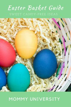 Easter Basket Guide - sweet candy free ideas