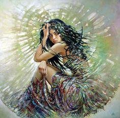 Il mondo di Mary Antony: Visionary art di Karol Bak