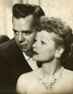 Lucille Ball and Desi Arnaz in the 1950s