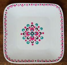 Home - Cateautje Dot Art Painting, Art Academy, Boho Diy, Mandala Design, Easy Projects, Rock Art, Anna, Dots, Plates
