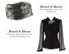 5 Ways To Wear Your Brooch | Adorn London