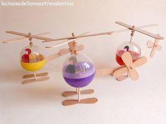 "Helicòpters genials - ""Helicópteros geniales"" http://laclassedellamaestravalentina.blogspot.de/2013/05/elicotteri-giocattolo.html"