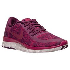 new products f5731 cff79 Women s Nike Free 5.0 V4 Print Running Shoes   Finish Line