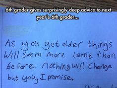 Surprisingly Deep Advice