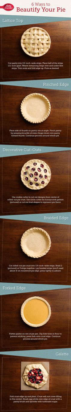 Making pies beautiful is easy when you follow these six simple techniques, perfected in our Test Kitchens!