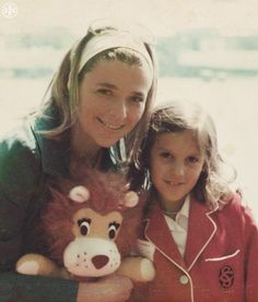 Tory with her inspiration, her mother Reva.