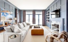 This Sophisticated Hamptons Home Masters Beachy Minimalism Without Going Full-On Nautical - ELLEDecor.com