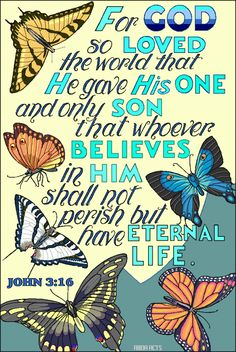 Illustration of John 3:16. Beautiful!
