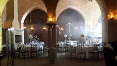 Riverside castle, royal blue decor. A GHINOMAE event. Info@ghinomae.co.za