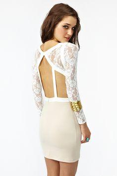 lace cutout dress MUST MAKE <3