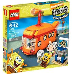 Bikini Bottom Express Set LEGO 3830 Spongebob Squarepants