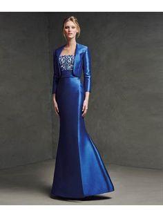 contrasterende strapswide gedrapeerd sjerp edelsteen borduurwerk satijnen tule jurk