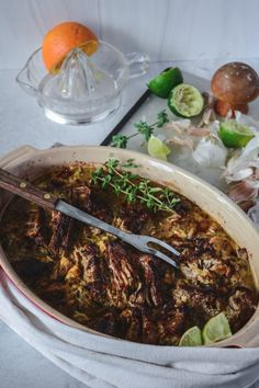 A Sunday Pork Roast, Mojo-style for an Easy Win | Lynne Curry Supper Recipes, Whole Food Recipes, Healthy Recipes, Fresh Salsa, Fresh Lime Juice, Braised Cabbage, Pork Shoulder Roast, Pork Roast Recipes, Homemade Tortillas