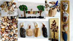 Manualidades con reciclaje piedras y conchas  - Tips de felicidad
