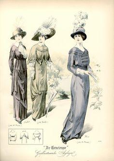 [De Gracieuse] Wandelkostumes (August 1912)