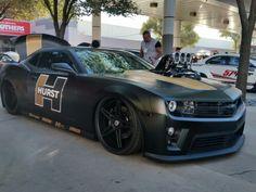 2013 Chevy camaro built by HURST at the Sema show 2014