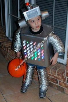 homemade robot kids halloween costume - Child Halloween Costumes Homemade