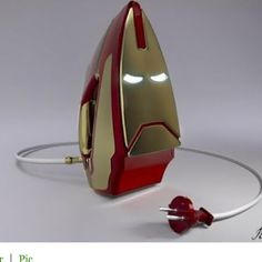 If this is real, this is beyond awesome.  I'm not saying I'd iron more, no no, that wouldn't happen.  I'd just display it instead of keeping it in a drawer like I do with my iron now.