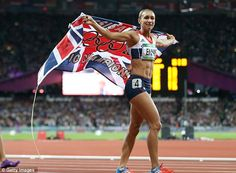 Saturday August 4 is the greatest day in British athletics history for more than 100 years #JessicaEnnis