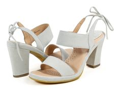 12abb0a4d2c Ono Ebba Light Grey Suede Sandal - Holly   Brooks Comfortable Sandals