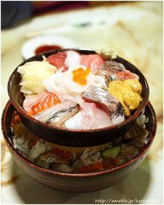 Kaisendon, Bowl of Rice Topped with Sashimi 海鮮丼 | Tsukiji, Tokyo