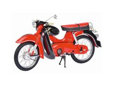 Schuco 1:10 Kreidler Florett Diecast Model Motorcycle 06548 This Kreidler Florett Super Diecast Model Motorcycle is Red and features working stand, steering, wheels. It is made by Schuco and is 1:10 scale (approx. 20cm / 7.9in long). #Schuco #ModelMotorbike #Kreidler #MiniModelBikes