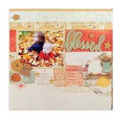 Blessed featuring the Shine Collection from We R Memory Keepers - Scrapbook.com