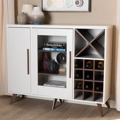 Small Wine Racks, Built In Wine Rack, Wine Rack Storage, Wine Rack Cabinet, Storage Shelves, Bar Furniture, Furniture Deals, Kitchen Furniture, Office Furniture