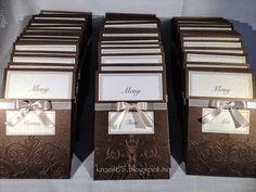 Kristinas kortblogg: Meny/bordkort og vinmeny til bryllup