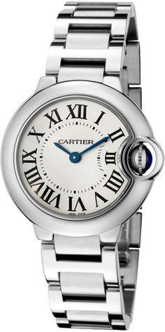 """Cartier Ballon Bleu W69010Z4: """"W69010Z4 NEW CARTIER BALLON BLEU WOMEN'S STEEL WATCHIN STOCK - FREE Overnight… #Watches #AuthenticWatches"""