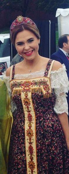 #Style #Пелагея #ДеньМосквы #Dress #Ethno