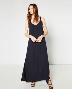 Image 1 of DRESS WITH CAPE TOP from Zara