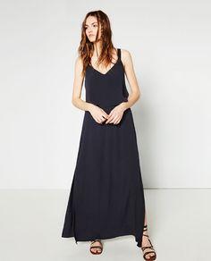 ZARA - WOMAN - DRESS WITH LAYERED TOP