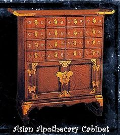 Asian Apothecary Cabinet   MF Cabinets