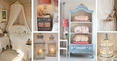 Shabby chic bedroom designs give your space a cozy, homey feeling. Make your room look truly unique with the best decor ideas!
