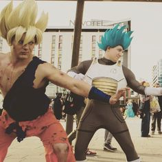 Goku and Vegeta ready to fight! Like Comment Follow!  d   4294d0147627