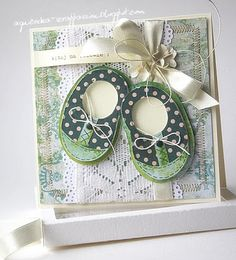 Baby Shoes by Agnieszka Scrappassion