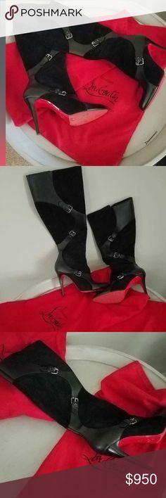 Christian Louboutin boots Size 40 Christian Louboutin boots Christian Louboutin Shoes Heeled Boots