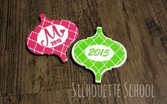 Ornament Templates by My Paper Craze for Silhouette School