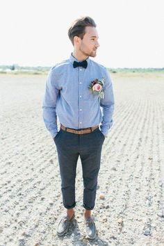 31 Coolest Boho Groom Attire Ideas | HappyWedd.com #PinoftheDay #coolest #boho #groom #attire #ideas