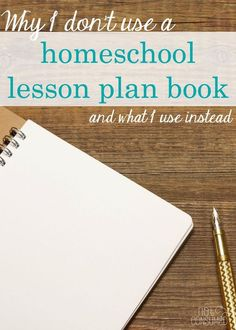 The truth is- I couldn't make a homeschool lesson plan book work for me. I tried everything from little squares to digital boxes. The trouble was, it didn't fit. Come see what I use now and how it fosters accountability and independence in my children at the same time!