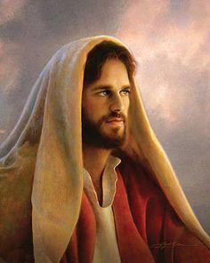 Images Du Christ, Pictures Of Jesus Christ, Jesus Our Savior, Jesus Is Lord, Greg Olsen Art, Jesus Christ Painting, Image Jesus, Jesus E Maria, Portraits
