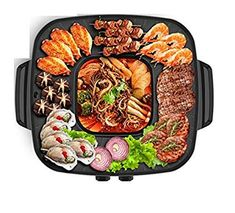 Electric Barbecue Grill, Bbq, Kitchen Sink Storage, Pots, Dark Home Decor, Hot Pot, Baking Pans, Kitchen Dining, Household