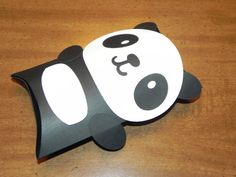 Panda Favor Box Pillowboxes  Panda Birthday Party by JLMpartyshop, $24.00