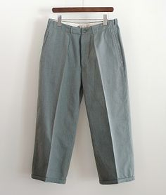LILY1ST VINTAGE 1960'S SWEDISH SALTPEPPER WORK PANTS BY FRISTADS http://floraison.shop-pro.jp/?pid=76026763