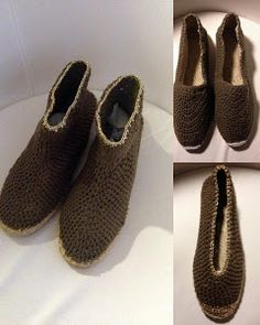 nena's crochet shoes