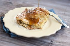 Hootenanny. Cross between French toast, crates, pancakes. Quick, easy and yummy!